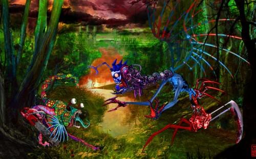 """""""Jugando con los animalitos del bosque. Montcada 2040"""""""